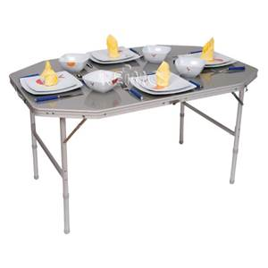 TABLE DE CAMPING VALISETTE EDDY 120X80CM