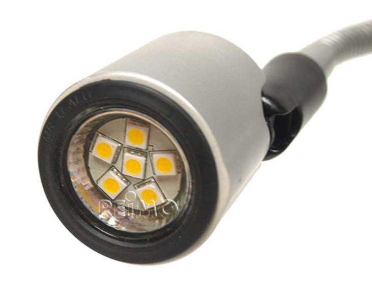 Lampe De Lecture Cokpit Led 12v 1w 130mm