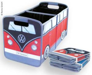 BOX DE RANGEMENT PLIABLE ROUGE - VW COLLECTION