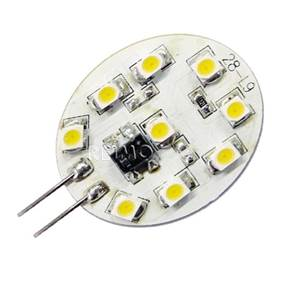 AMPOULE SMD-LED 9 LEDS Blanc froid - 0.6 W -G4