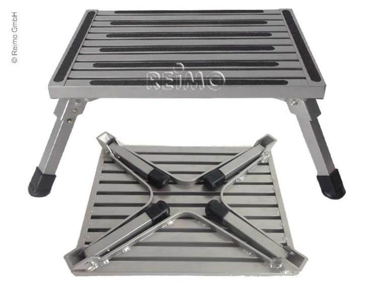 Marchepied Pliant En Aluminium 48x37x21 5 Cm