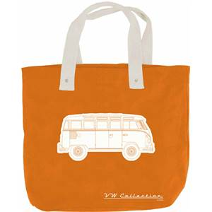 SAC SHOPPER CANVAS VW COLLECTION COLORIS ORANGE