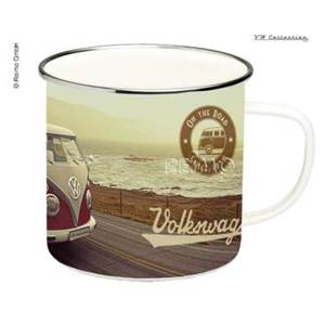 TASSE A CAFE EMAILLEE SOUTH VINTAGE - VW COLLECTION