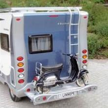 porte moto pour camping car fourgon van. Black Bedroom Furniture Sets. Home Design Ideas