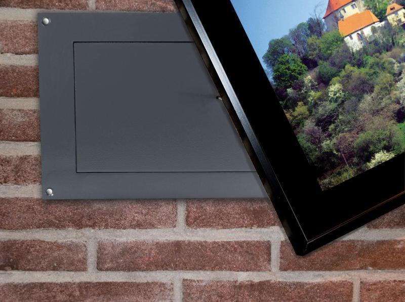 coffre fort encastrable spike 39x26x18cm. Black Bedroom Furniture Sets. Home Design Ideas