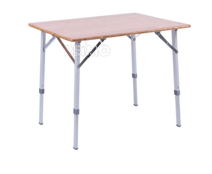 TABLE DE CAMPING EN BAMBOU CATANIA 80 x 60 cm