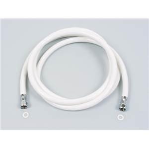 Flexible de douche plastique blanc 2m 1 2 39 x 1 2 39 - Flexible douche plastique ...