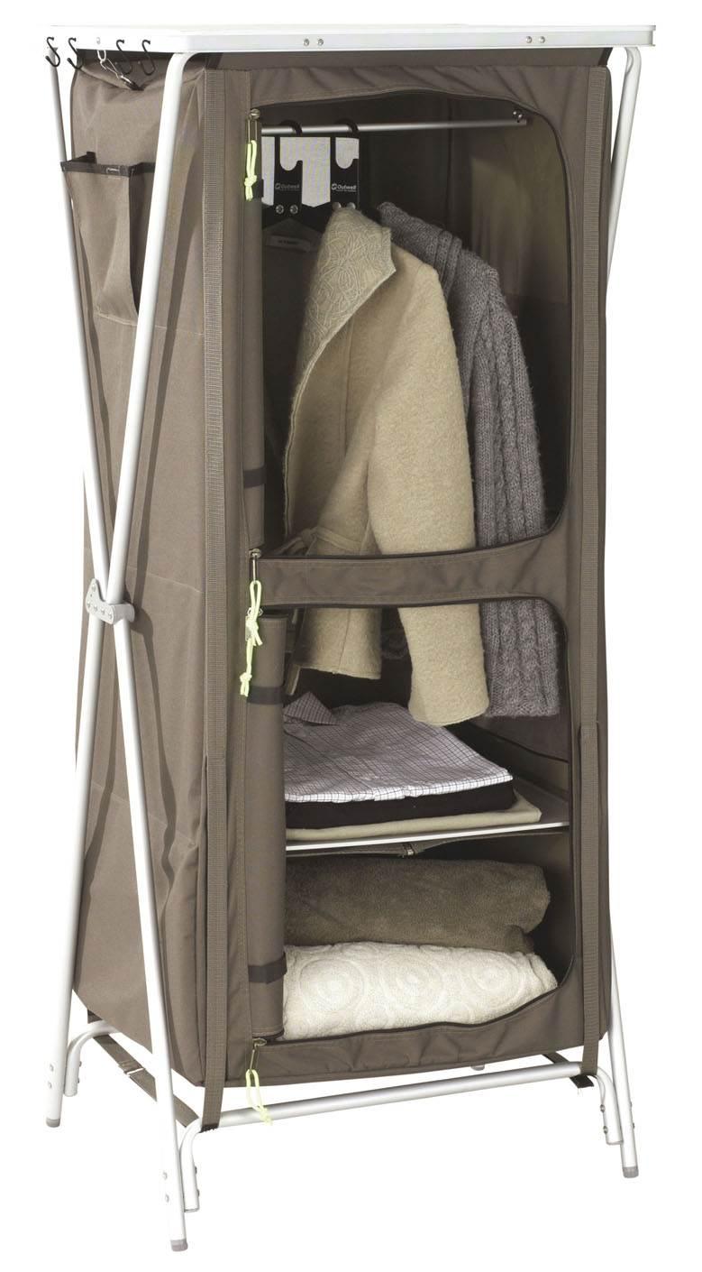 Meuble rangement haut 4 tages bermuda moka 60x50xh140cm Grilles etageres fines pour meubles de cuisines camping car