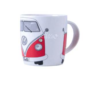 TASSE MUG VW COLLECTION DECOR BULLI ROUGE