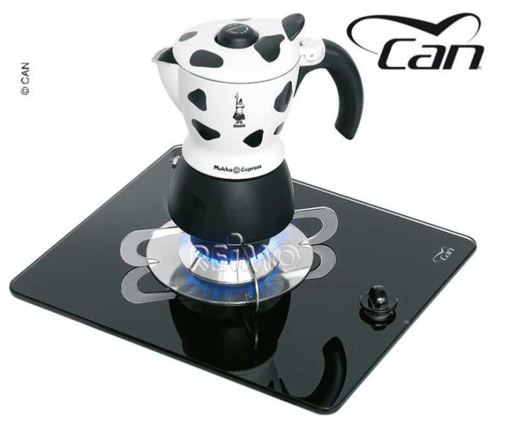 plaque de cuisson gaz 1 feu verre trempe can 290x325mm. Black Bedroom Furniture Sets. Home Design Ideas