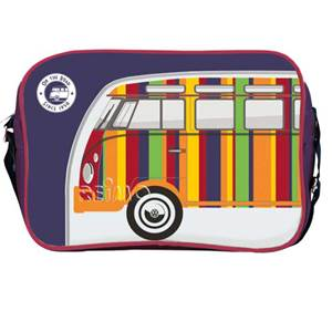 BESACE SAC BANDOUILLERE VW COLLECTION COLORIS VIOLET/RAYURES Design