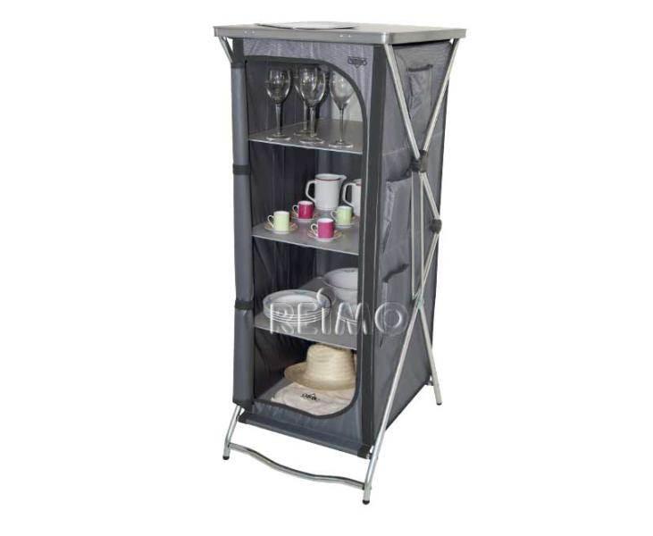 meuble rangement haut crespo 4 tages ou penderie 60x55xh140cm. Black Bedroom Furniture Sets. Home Design Ideas
