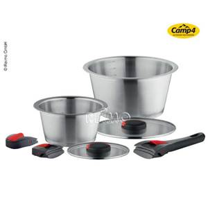 SET DE CASSEROLLES QUICK CLACK 7 PIECES