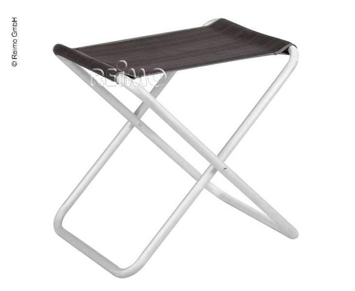 tabouret de camping pliant xl fishbone anthracite westfield. Black Bedroom Furniture Sets. Home Design Ideas