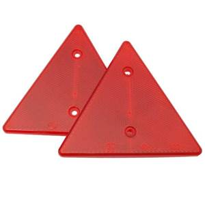 CATADIOPTRE TRIANGLE 159xH139 ROUGE JOKON - LOT DE 2