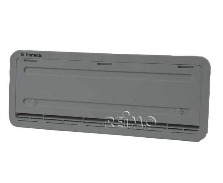 Grille de ventilation inf rieure ls200 grise pour for Grille de ventilation pour porte