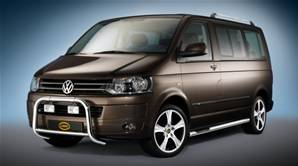 BARRES LATERALES AVEC MARCHES VW T5 DPS 2009-COURT