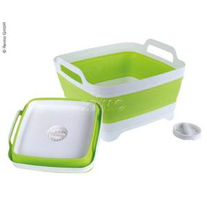 BASSINE PLIABLE BLANCHE ET VERTE CAMP4
