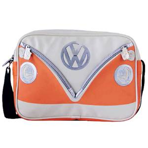 BESACE SAC BANDOUILLERE VW COLLECTION COLORIS ORANGE/CREME
