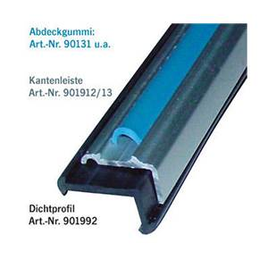CHANT A 90° ALUMINIUM 27X11mm - 2m (2x1m)