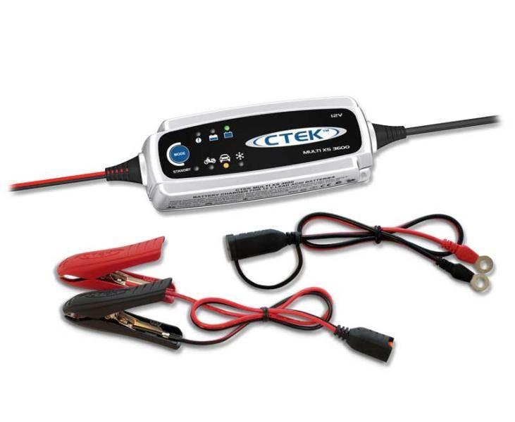 Chargeur de batterie ctek multi xs 3600 - Maintien de charge batterie ...