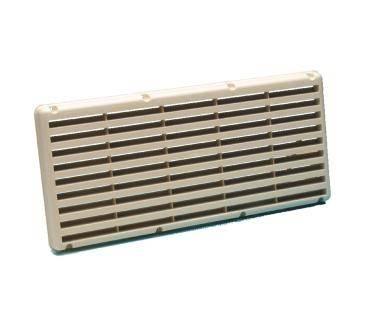 grille de ventilation 365x170mm creme. Black Bedroom Furniture Sets. Home Design Ideas