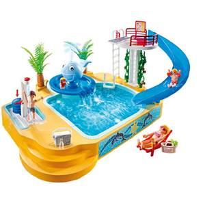 Playmobil famille avec piscine et plongeoir for Playmobil 5433 famille avec piscine et plongeoir