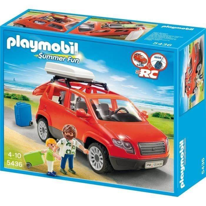 playmobil voiture avec coffre de toit. Black Bedroom Furniture Sets. Home Design Ideas