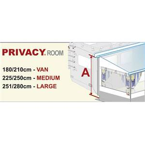 PRIVACY ROOM 350 pour F45S - LARGE haut 251-280 cm