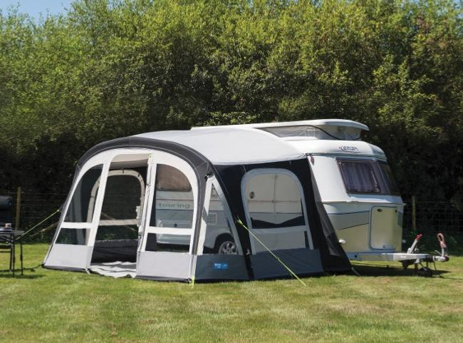 Auvent gonflable kampa pop 365 airpro pour caravanes eriba for Auvent gonflable kampa pour camping car