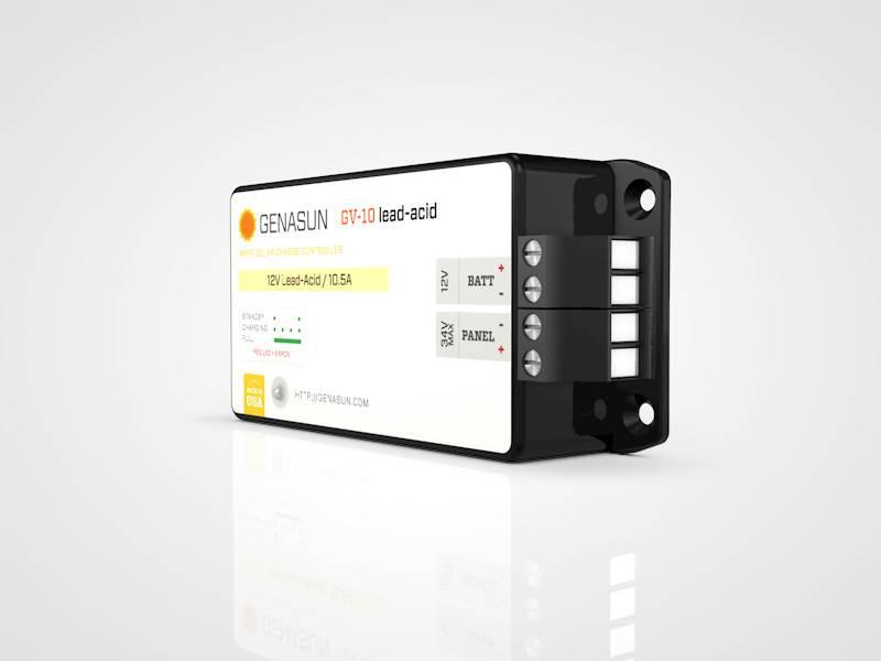 regulateur panneau solaire genasun gv 10 140w 10a. Black Bedroom Furniture Sets. Home Design Ideas