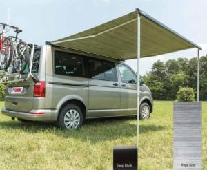 STORE FIAMMA F40VAN -SPECIAL VW T5/T6 - boitier DEEP BLACK , toile ROYAL GREY