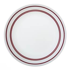 ASSIETTE RONDE CORELLE 21 CM - CAFE RED