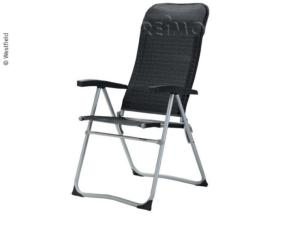 CHAISE DE CAMPING ANTHRACITE ZENITH série Be-Smart