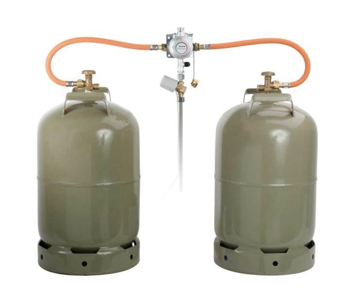 Detendeur 2 bouteilles duocontrol truma 30mb 1 5kg 10mm - Detendeur bouteille de gaz ...