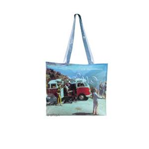 SAC A COURSES PVC VW COLLECTION DECOR SCENE