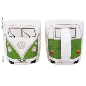 TASSE MUG VW COLLECTION DECOR BULLI VERT