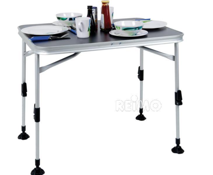 table pliante paris 60x80cm plateau gris anthracite. Black Bedroom Furniture Sets. Home Design Ideas