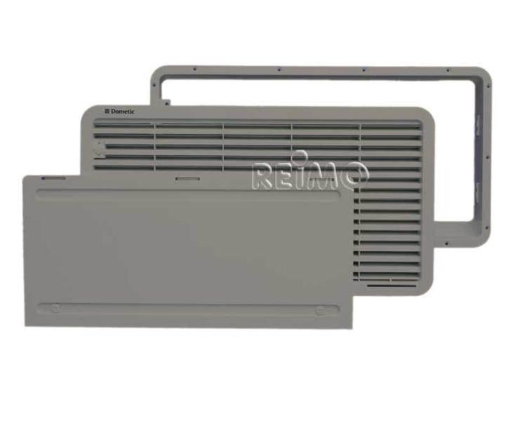 Grille de ventilation ls 300 grises pour dometic 103l - Grille de ventilation pour porte ...