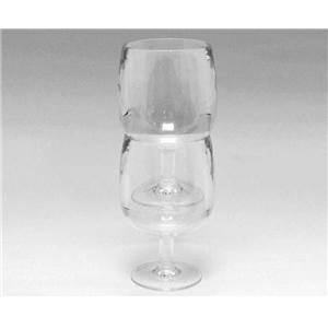 LOT DE 2 VERRES A VIN EMPILABLES ACRYLIQUE 25 CL