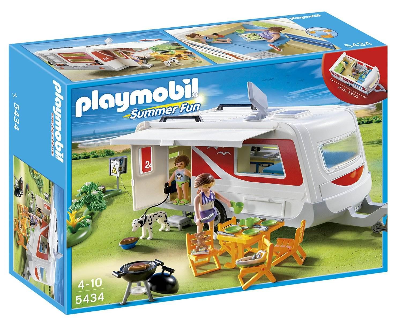 Tapis De Sol Playmobil Jouet Voiture Avec Remorque Et Cheval