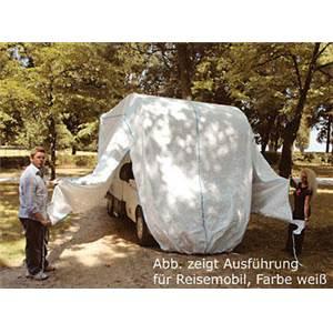 PROTECTION TOTALE HIVERNAGE TYVEK CAMPING CAR-Blanc-H315 l235 L550 cm