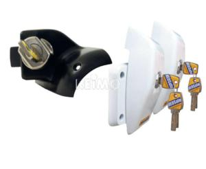 HEOSafe VAN SECURITY PACKET - 2 VERROUS INTERIEURS + 2 VERROUS EXTERIEURS coloris BLANC - DUCATO 250