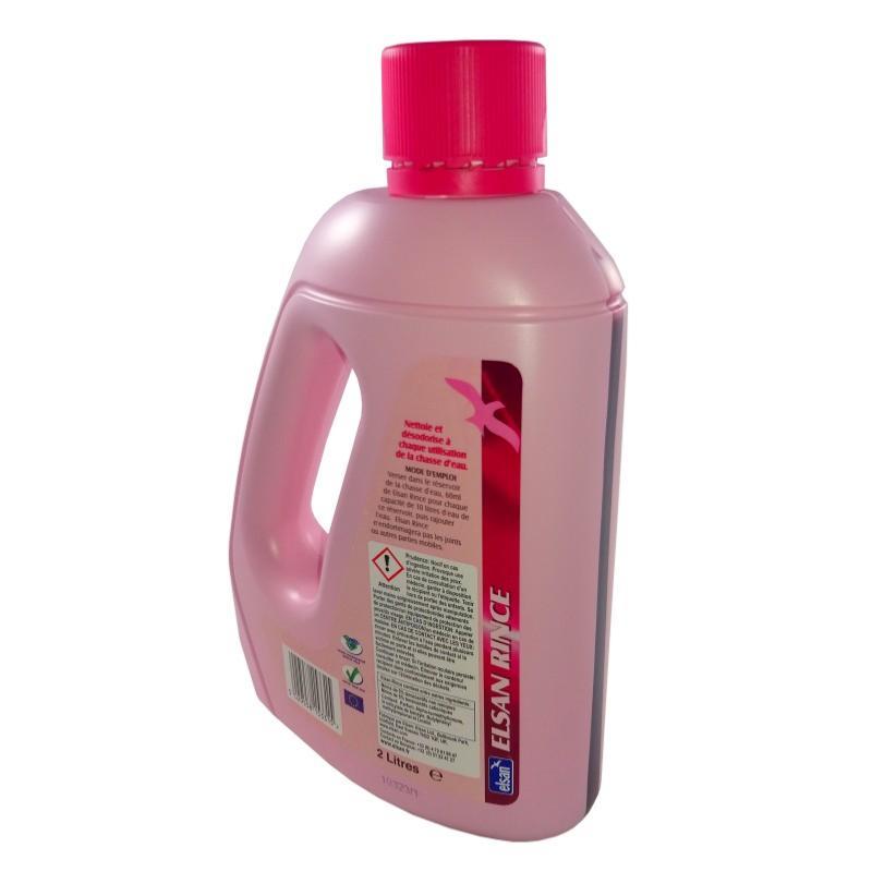 Produit additif reservoir elsan rince 2l - Produit pour wc chimique ...