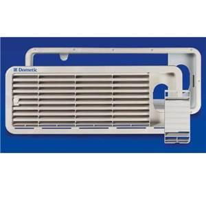 grille de ventilation superieure ls 100 blanche pour refrigerateur dometic. Black Bedroom Furniture Sets. Home Design Ideas