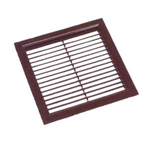 GRILLE RECTANGLE ENTREE AIR 240x240mm POUR HB 2500