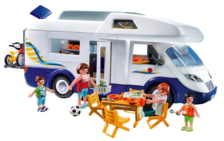 playmobil camping car familial. Black Bedroom Furniture Sets. Home Design Ideas