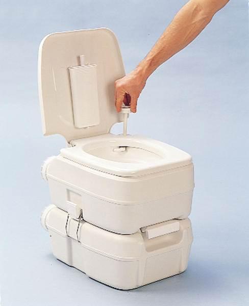 toilette chimique bi pot 39 15 20l fiamma. Black Bedroom Furniture Sets. Home Design Ideas
