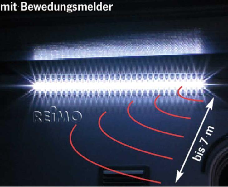 eclairage 31 leds exterieur sous auvent 12v fiamma avec