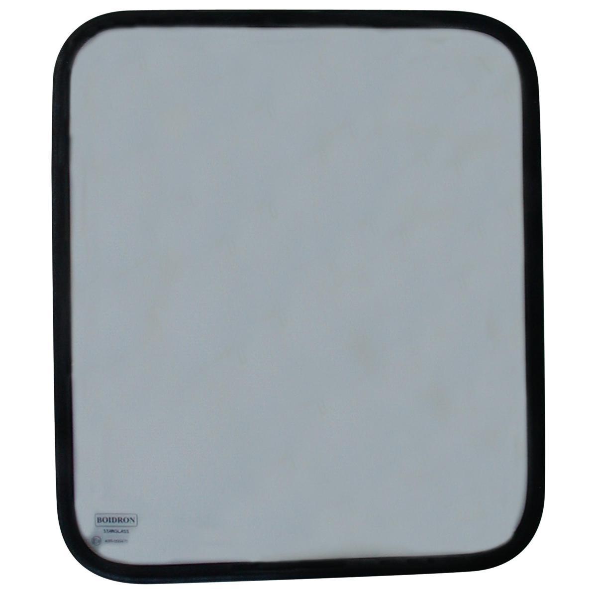 Fenêtre En Verre 600 X 400 Mm Cadre Aluminium Noir